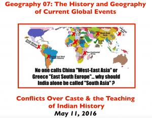 Caste Controversies